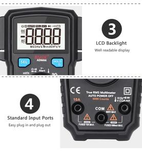 Image 4 - Portable Digital Multimeter BSIDE ADM66 Auto Range True RMS Multimetro DC AC Voltmeter Ammeter Thermometer Ohm diode Tester