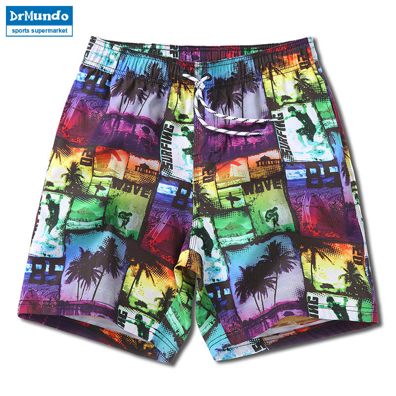 Board shorts men summer swimsuit loose beach surfing boardshorts mens gym swimwear bathing suit bermudas jogger short