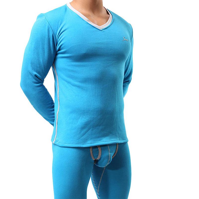 Homme Long Johns hiver sous-vêtement thermique ensembles hommes marque Stretch hommes Thermo sous-vêtements hommes printemps chaud chemises + pantalons