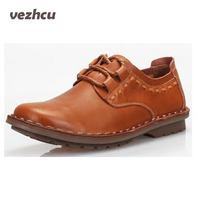 2014 New Hot Selling Men Casual 100 Genuine Leather Flats Driving Shoes Business Men S Shoes