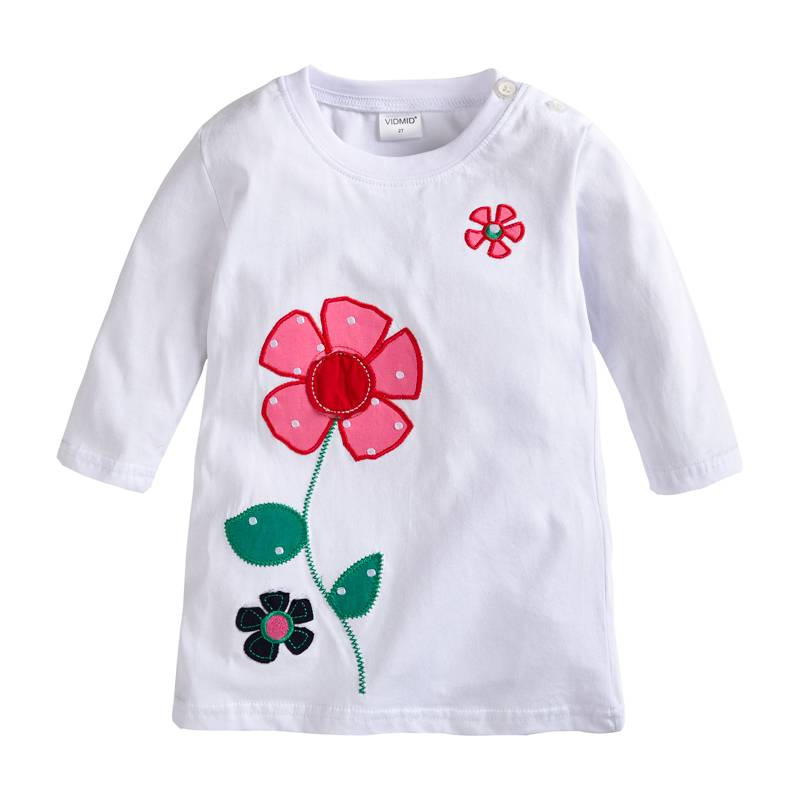 HTB12eF4eCfD8KJjSszhq6zIJFXaE - VIDMID baby Girl t-shirt big Girls tees t shirts children blouse t-shirts super quality kids summer clothes rabbit pink brand