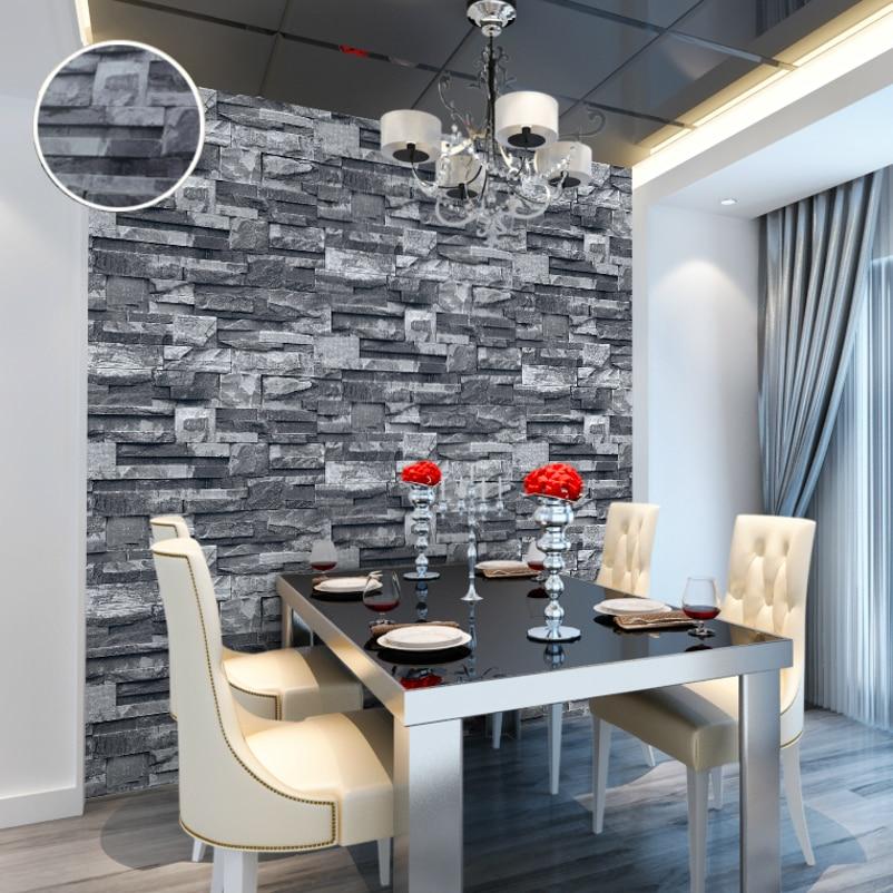 Aliexpresscom Buy Kitchen 3D Effect Embossed Brick Stone