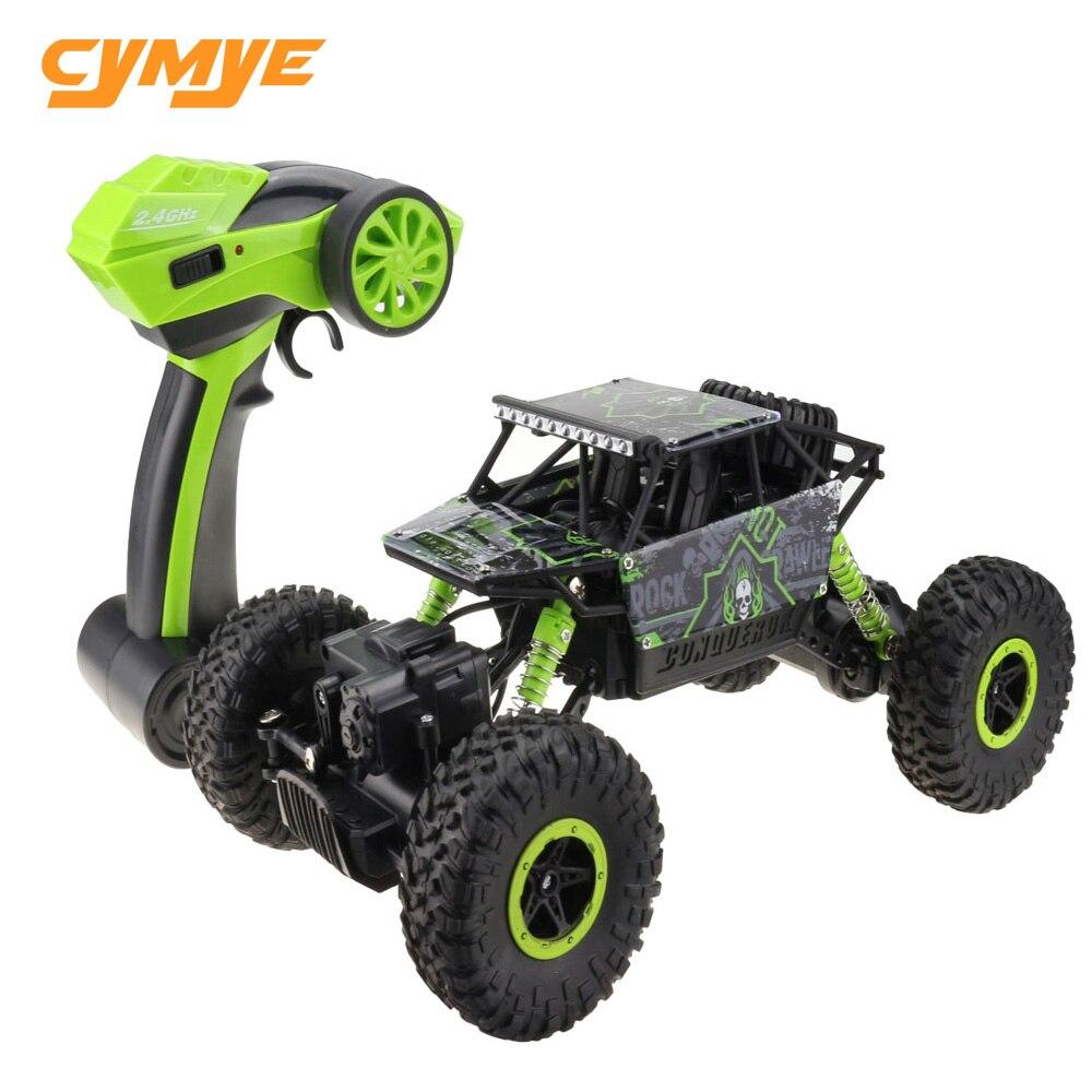 Cymye Racing RC Auto 1:18 Rock Crawler 2,4 ghz Drahtlose Fernbedienung behauptet Auto