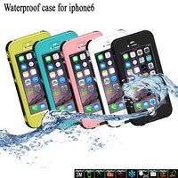 Nowy Wodoodporna Obudowa Dla iPhone 7 6 6 s plus Wodoodporny Podwodne Pływanie Szczupła całe ciało Ochronna PC TPU Okładka