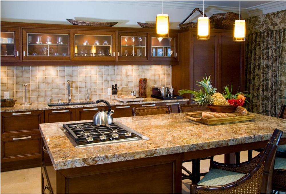 2017 Discount Solid Wood Kitchen Cabinets Customized Made