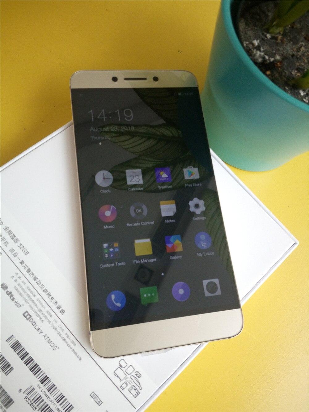 5.5 pouce Mobile Téléphone Letv Leeco Le 2 pro X625/Le S3 X626/Le 2X620 MTK helio Deca Core OS 6.0 4 gb + 32 gb ROM FDD LTE 4g 3000 mah