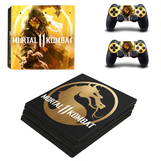 Mortal Kombat 11 Ps4 Pro Skin Sticker Decal For Sony Playstation 4