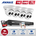 ANNKE 1TB 2MP Cameras POE 8CH 6MP NVR Home Security System 4mm Lens Night Vision