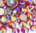 SS4 LT. SIAM AB del color 1440 unids cristal de Hotfix del rhinestone no 1.5mm Nail Art Piedras flatback