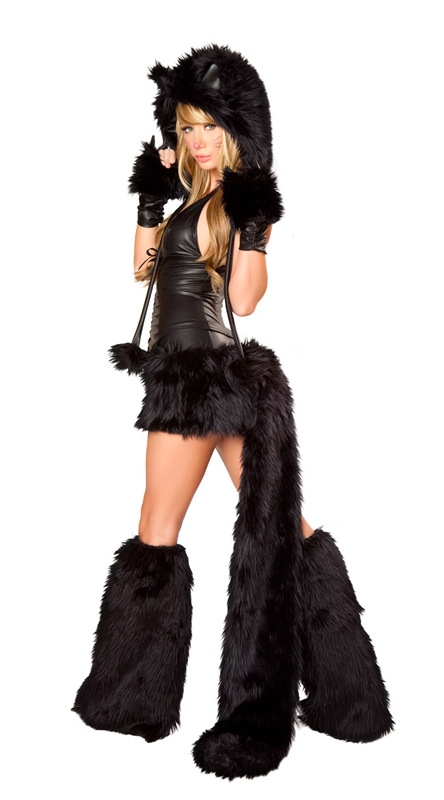 New Adult Sexy Wolf Girl Costume Sexy wolf Costumes Halloween Furry Costumes for women Animal Costume Cosplay-in Sexy Costumes from Novelty u0026 Special Use on ...  sc 1 st  AliExpress.com & New Adult Sexy Wolf Girl Costume Sexy wolf Costumes Halloween Furry ...