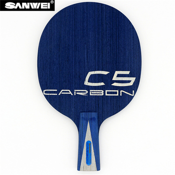 SANWEI C5 LD Table tennis blade 5 plywood+ 2LD Carbon quick attack loop ping pong racket bat paddle tenis de mesa sanwei f3 pro table tennis blade 5 wood 2 arylate carbon premium ayous surface off ping pong racket bat paddle tenis de mesa
