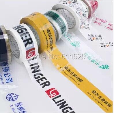 Customize Adhesive Tape With Logo/colorful Adhesive Ribbon/warning Tape/carton Sealing Tape/gift Box Packing Tape/ribbon Print