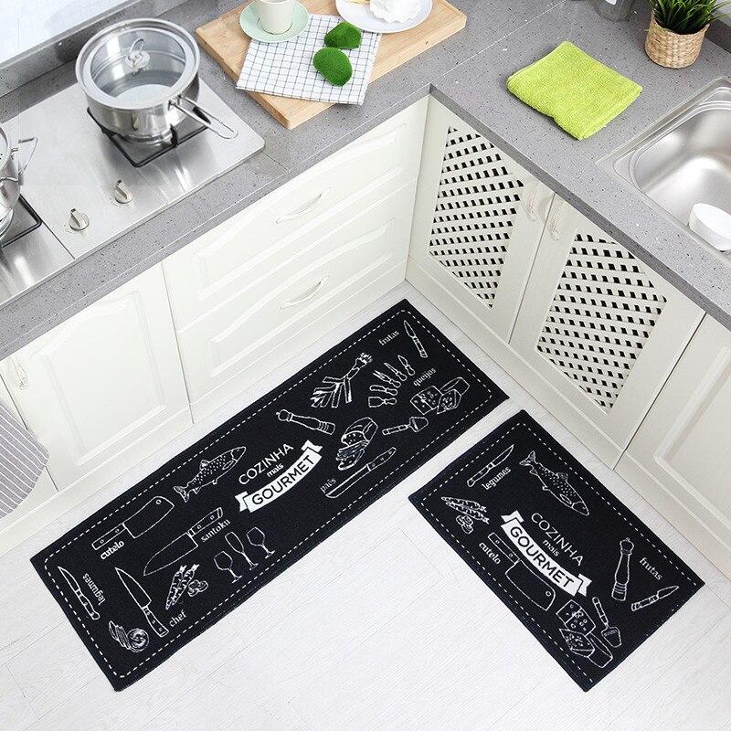 40*60/40*120 ซม.ห้องครัว Bath ชุดดูดซับห้องน้ำพรมลื่นพรม Pad ห้องนั่งเล่น Doormat Tapis Salle De Bain