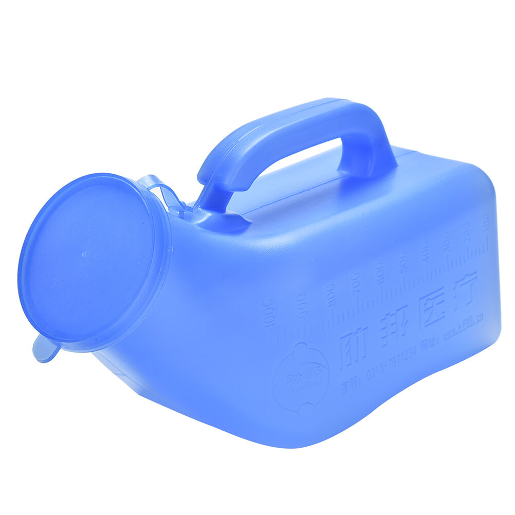 Portable Urine Bottle Urine Bottle 1000ml For Men Women Travel And Camping Blue Toilet Parts Home Improvement