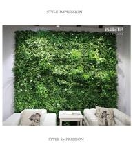 40x60cm artificial turf grass mat Green Artificial Plant Lawns Landscape Carpet moss wall for party home garden decoration
