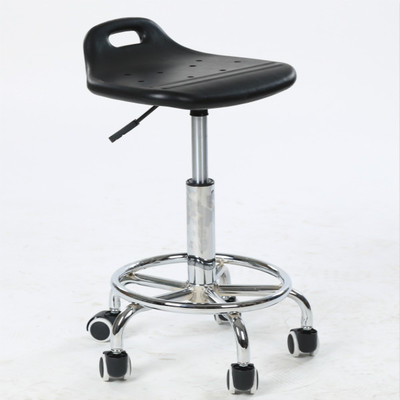 Laboratory stool Assembly workshop Clean room chair free shipping foam seat wheel footrest furniture baby seat inflatable sofa stool stool bb portable small bath bath chair seat chair school