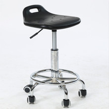 Laboratory stool Assembly workshop Clean room chair free shipping foam seat wheel footrest furniture