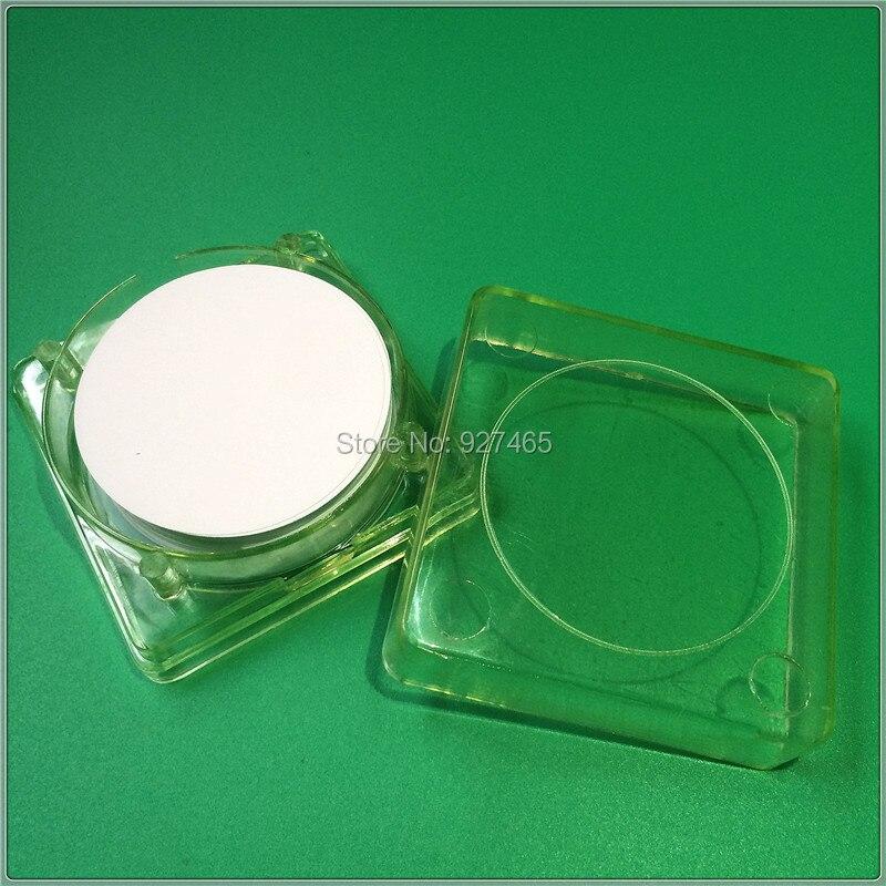 OD 50mm/47mm, 0.22 Micron, PTFE Membrana del Filtro, proprietà idrofobiche, 100 Pz/lotto