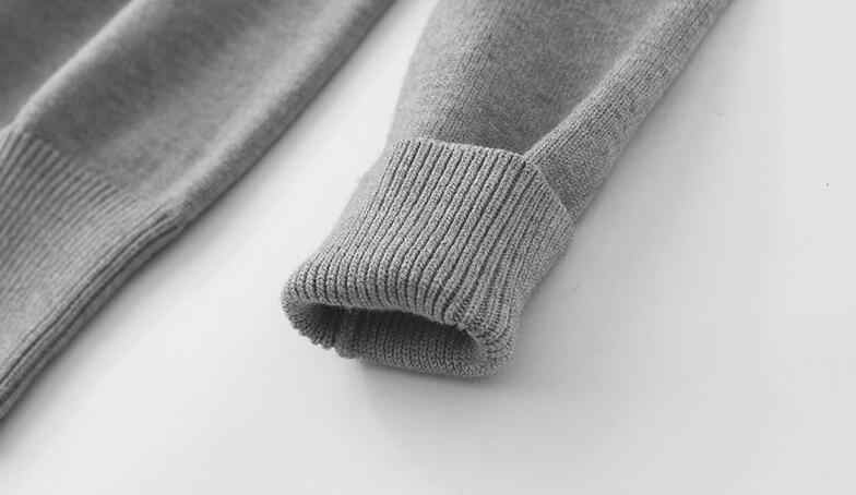 2018 новый женский свитер Кардиган Осень Зима Женское пальто длинный рукав женский свободный вязаный кардиган однотонный черный серый PQ301