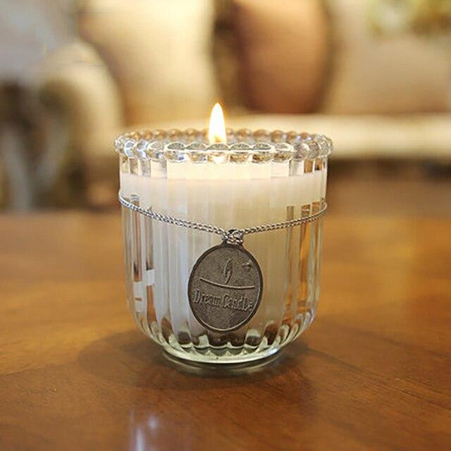 Bougie Huile Essentielle Maison artisanat décoration de mariage bougie en verre tasse d'huile