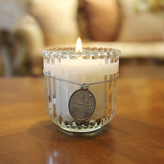 Craft Wedding Decoration Candle Glass Cup Essential Oil Bougies Et
