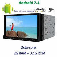 7 Inch Android 7 1 GPS Car Stereo DVD Player Multi Touchscreen Support OBD2 DAB Digital