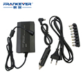100W Universal  AC/DC  LaptopPower Adapter  For Laptop/Mobile /Notebook Adaptor Multifunctional With Car Charger