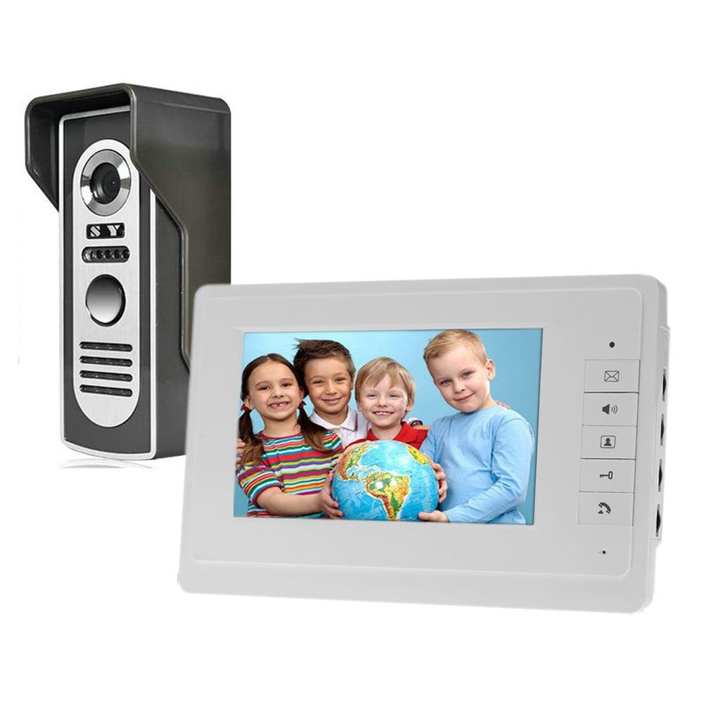 Freeship 7inch Color Rainproof Door Phone Video Monitor Security Camera Video Door Monitor LCD Door Viewer