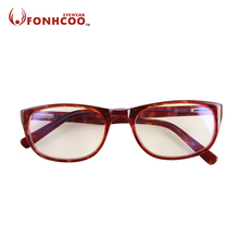 new fashion FONHCOO High Quality Computer goggles Yellow Lens Anti Blue ray Radiation protection glasses Gaming Eyeglasses