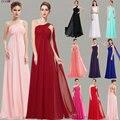 вечерние платья 9816 линия одно плечо оборками мягкий длинные 2016 новый  де феста лонго вечернее платье свадебные платья - фото