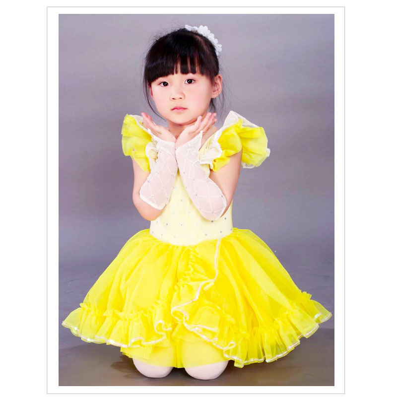 461f541717 2016 Venda Real Meninas Ballet Tutu de Balé Tutu Traje de Dança Roupas Collant  Criança Do Sexo Feminino Princesa Vestido Formal Saia Latina 8009