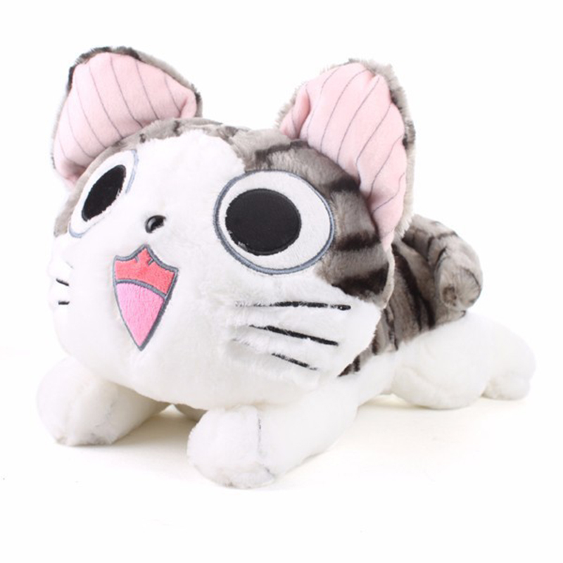 20cm Kawaii Chi Cat Plush Toys Cute Chi Cat Stuffed and Soft Animal Dolls Stuffed Plush Animals Toy Birthday Gift for Kids