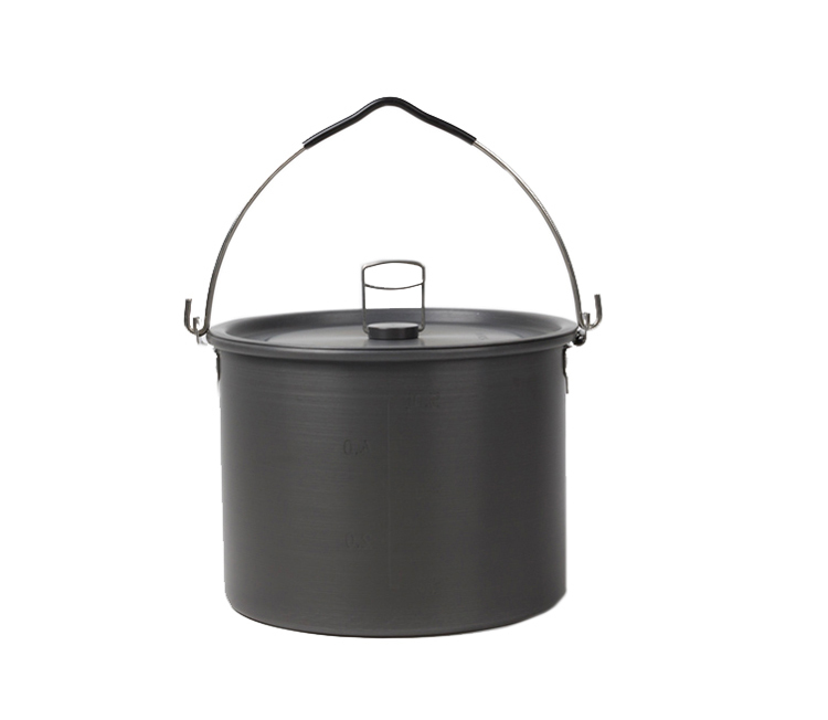 Alocs 3-5 People Outdoor Pot Camping Pot Cookware CW-TM01 чайник походный alocs love road off cw k04 alocs cw k04 pro