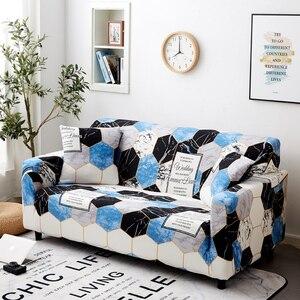 Image 3 - Parkshin 1/2/3/4 Seater Slipcover Stretch cztery pory roku pokrowce na sofy pokrowiec na meble poliester Loveseat narzuta na sofę, Sofa, ręcznik,