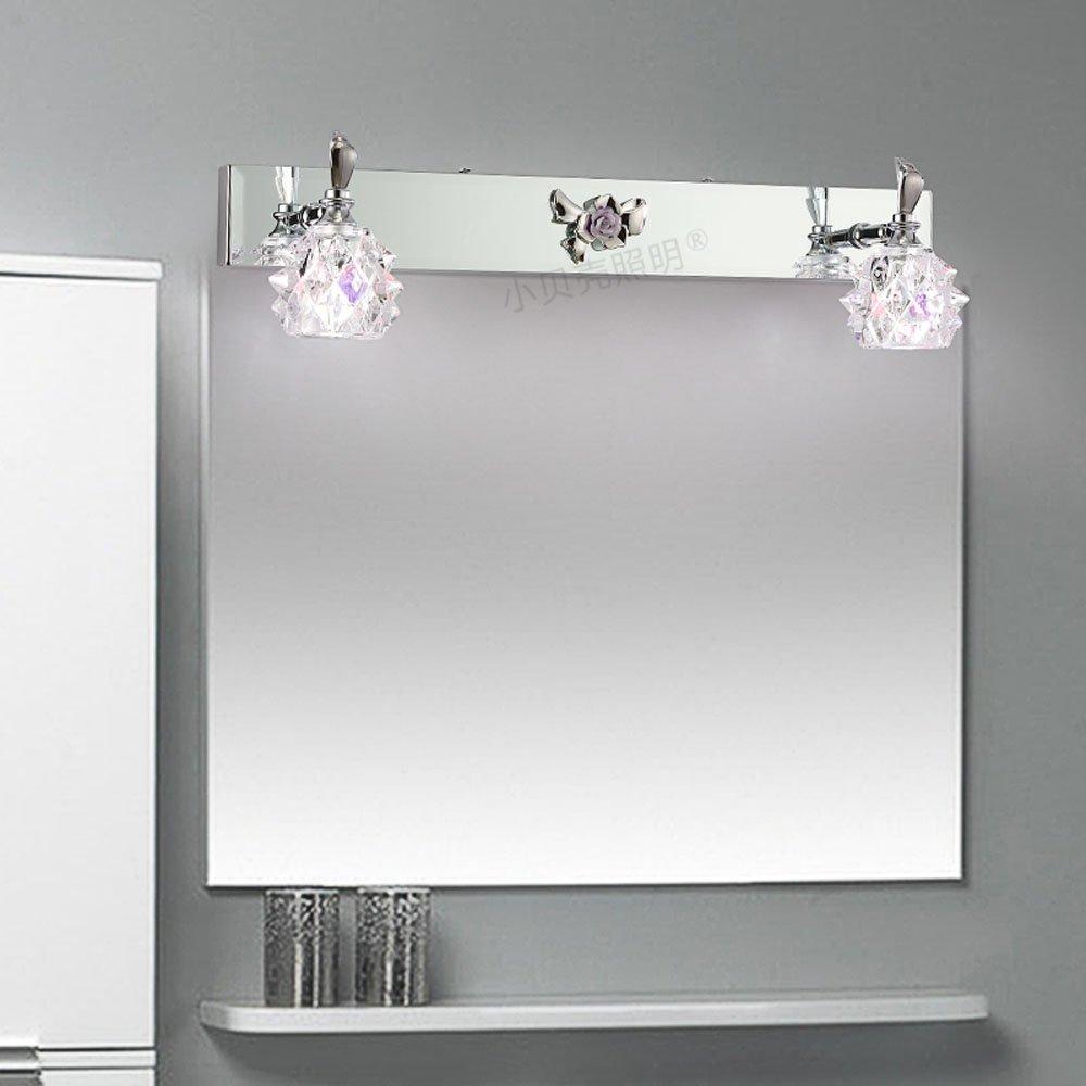 Modern Crystal Washroom Wall Light Chrome Contemporary Crystal Bathroom  Mirror Wall Sconces Cheap Wall Lamp Whole Part 74