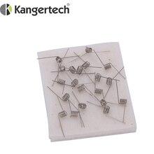 Kanger Mini bobina RBA Original de algodón orgánico, 100 unids/lote, Mini atomizador, minitanque