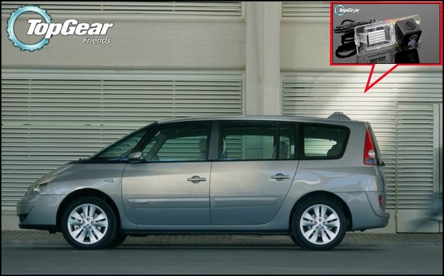 renault espace top gear. Car Camera For Renault Espace 4 VI High Quality Rear View Back Up TopGear Friends Top Gear R