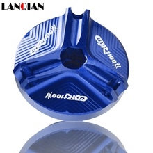 Motorcycle CNC Engine Oil Filter Cup Plug Cover Screw CUP FOR HONDA CBR1100XX CBR 1100XX 1100 XX 1997 1998-2007