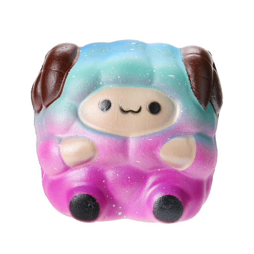 Squishy Animals Stress Reliever Scented Super Foam Squishies Slow Rising Sheep Kids Toy 30S8522 drop shipping