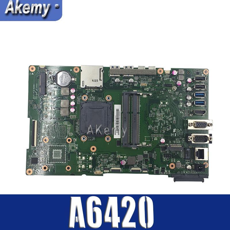 A6420 MAIN_BD. _/UMA/TPM avec carte mère G1840 pour ASUS A6420 tout en un carte mère de bureau 90PT01B0-R02000 DDR3 1600 MHz Test OK