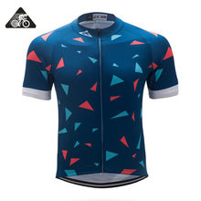 Rockthrill Classic Cycling Jersey Summer Short Sleeve Cycling Gear Top Quality Bike Clothes Tight Race Fit Free Shipping 2018(China)