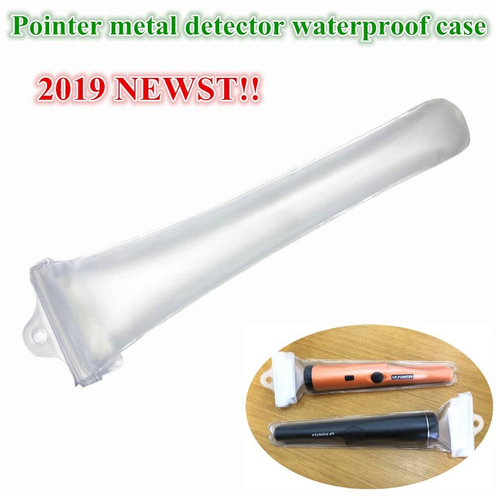 Super Detector De Metal À Prova D' Água Caso Transparente para Pro Identificar PONTEIRO Detector De Metal À Prova D' Água Caso Tampa À Prova de Poeira