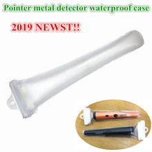 Super Metal Detector Waterproof Transparent Case for Pro Pinpointing Dustproof Cover POINTER Metal Detector Waterproof Case pi iking 740 pulse targeting pinpointer pro pointer technology metal detector waterproof underwater metal detector