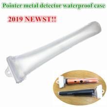 цена на Super Metal Detector Waterproof Transparent Case for Pro Pinpointing Dustproof Cover POINTER Metal Detector Waterproof Case