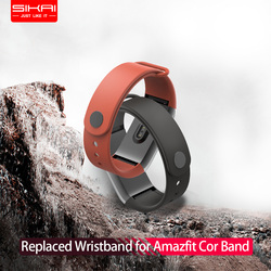 SIKAI Wrist Strap for Amazfit Cor Band Replaced Cor Band for Xiaomi Huami Midong Amazfit Cor Band TPE material Wristband