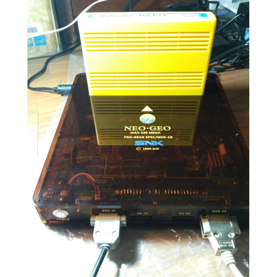 JAMMA CBOX MVS SNK NEOGEO MVS-1B To DB 15P SS Gamepad SNK Joypad AV RGB Output For NEOGEO SNK 161 In 1 / SNK 120 In 1 Cartridge