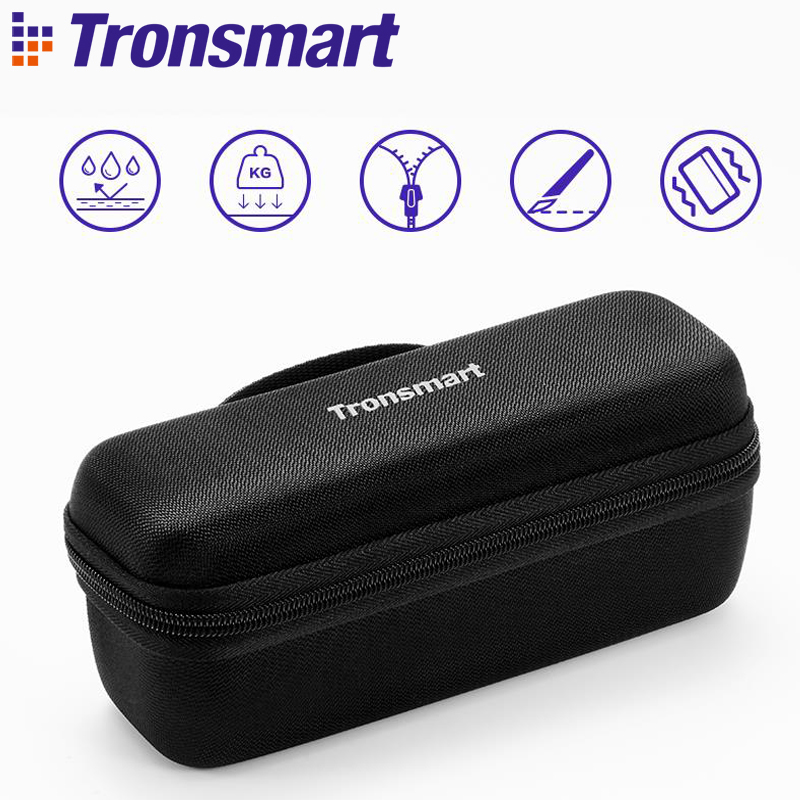 Tronsmart Element Mega Speaker Carrying Case Bluetooth Speaker Bag Speakers Accessories Speaker Cover for Tronsmart Element Mega tronsmart element t6 mini bluetooth speaker portable wireless speaker with 360 degree stereo sound for ios android xiaomi player