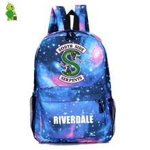 80926ae4b8 Riverdale South Side Galaxy Backpack Children School Bags Women Men Casual  Travel Rucksack boys girls Book