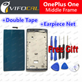 Oneplus One Screen Frame In Stock Good LCD Middle Frame Assembly Replacement for one plus one Mobile Phone