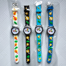 Wholesale promotion !! Cartoon Car Story Kids Watches Students Boys Girls Clock Skates Quartz Children Watch Sports Wristwatches